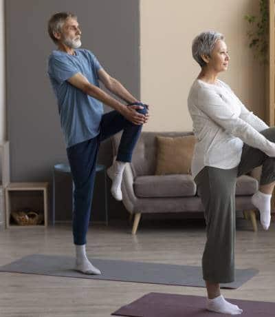 Recomendación de ejercicios de marcha para Parkinson